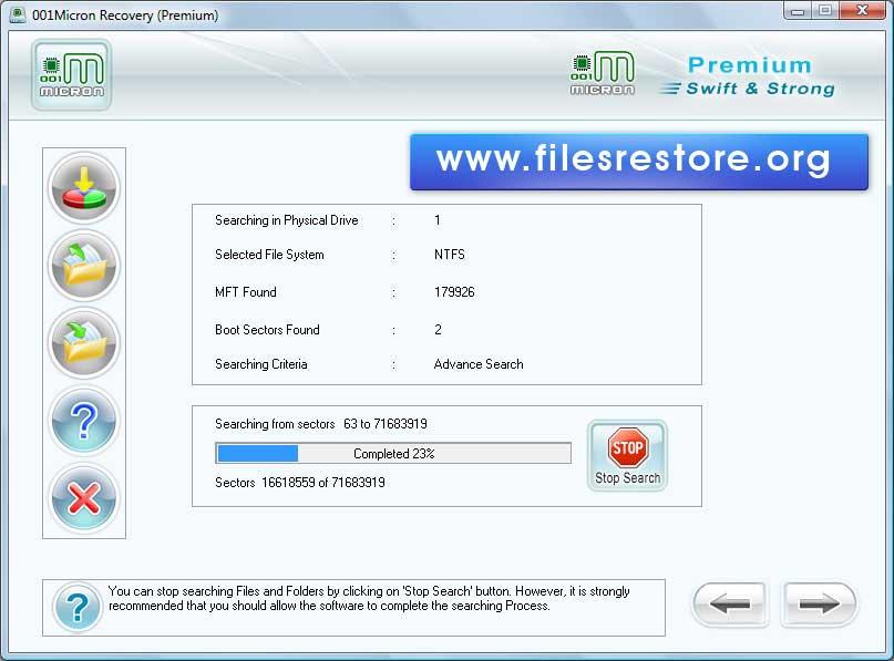 Files Restore Software